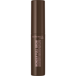 Mascara wonderfull 24hr brow 002 medium brown RIMMEL,  5ml