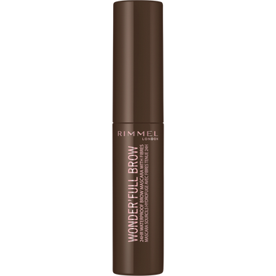 Mascara wonderfull 24hr brow 002 medium brown RIMMEL, nu, 5ml