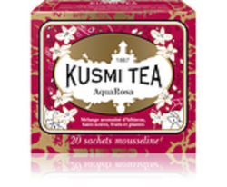 THE AQUAROSA 20 SACHETS - KUSMI TEA