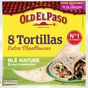 Old El Paso Tortillas De Blé Nature Old El Paso, 8 Unités, 326g