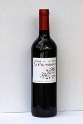 Vin Rouge IGP Pays D'Hérault Le Gourmand Domaine de La Parro Saint Jean De La Blaquière 75 cl