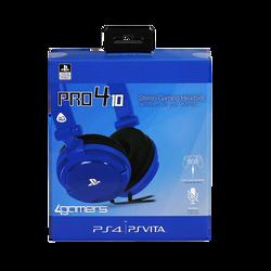 Casque PS4 Pro 4-10 bleu