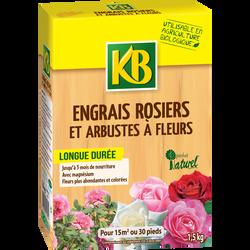 Engrais rosiers et arbustes KB BIO, 1,5kg