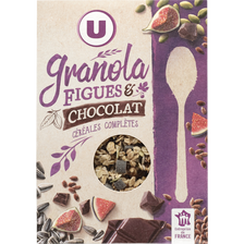 LU Muesli Granola Figues Et Chocolat U, Paquet De 350g