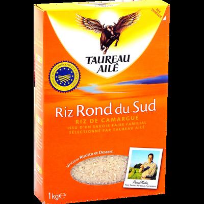 Riz rond du sud TAUREAU AILE, 1kg