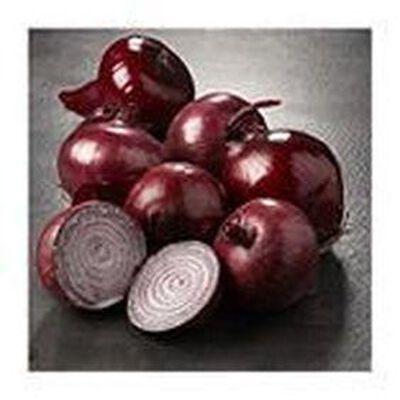 Oignon rouge origine france categorie 1 calibre 60/80