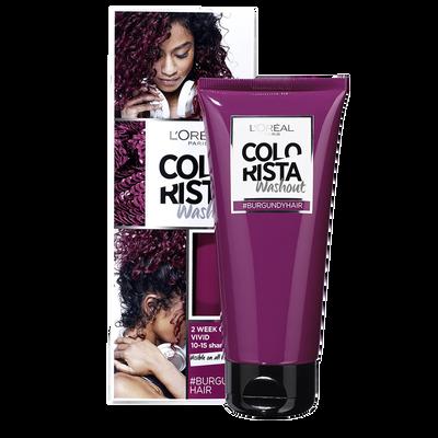 Coloration wash out 11 burgundy COLORISTA