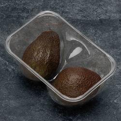 Avocat hass mûr à point, calibre 18, Israël, barquette 2 fruits