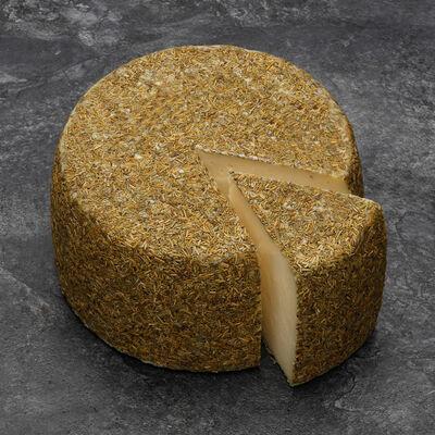 Fromage pur brebis au romarin lait pasteurise 36% de MG, EL PASTOR