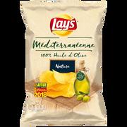 Lay's Chips Recette Méditerranéenne Au Sel Lay's, 130g