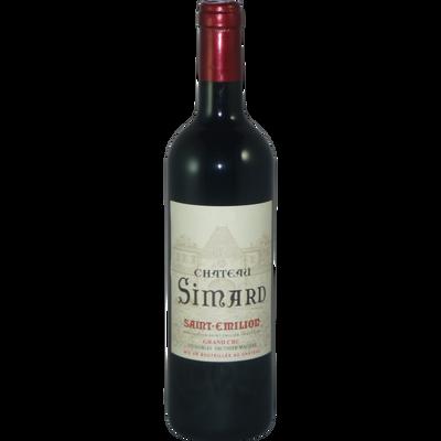 """Vin rouge AOP St Emilion grand cru """"Château Simard"""", 6 bouteilles de 75cl"""