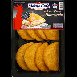 Cordon bleu poulet à la normande, MAITRE COQ, Barquette 800g