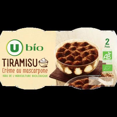 Tiramisu U BIO, 2 unités, 90g