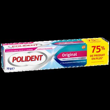 Polident Crème Fixante Pour Appareils Dentaires Adhérence Maximum Polident, 70g
