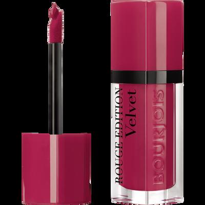 Rouge à lèvres édition velvet frambourjoise BOURJOIS