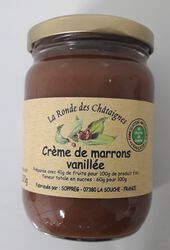 Crème de marron vanillée, Sopreg 320GR