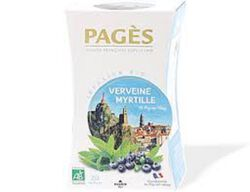 Infusion Bio Verveine Myrtille Pages