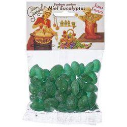 bonbons miel parfum eucalyptus ssans sucres 115g LUCIEN GEORGELIN