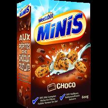 Céréales minis chocolat WEETABIX, paquet 600g