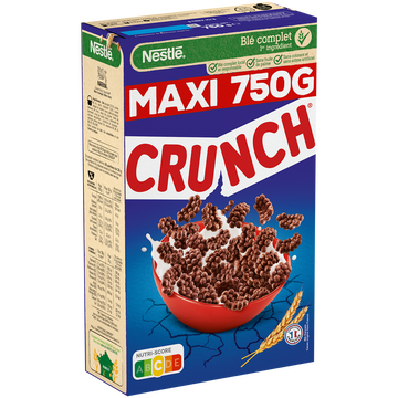 Nestlé Céréales Crunch Nestle, 750g