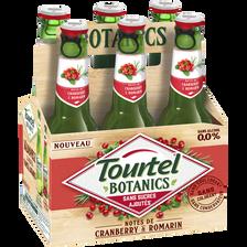 Tourtel Twist Bière Sans Alcool Botanics Cramberry 0° , 6x27,5cl