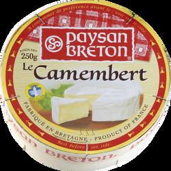 Camembert pays PAYSAN BRETON, 30%de MG, 250g