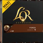 Maison du Café Espresso Forza L'or, 20 Capsules Soit 104g