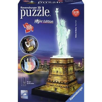 Puzzle 3d lumineux