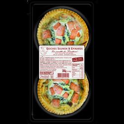 Quiche saumon épinards SCHMIDT 280g
