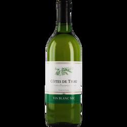 Vin de pays des côtes de Thau IGP blanc, 75cl