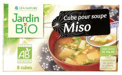 Cube Soupe Miso JARDIN BIO