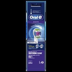 Brossettes 3D white ORAL B POWER x2