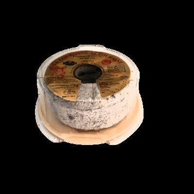 Couronne de Touraine au lait cru de chèvre, 21% de MG, cloche d'or, 170g