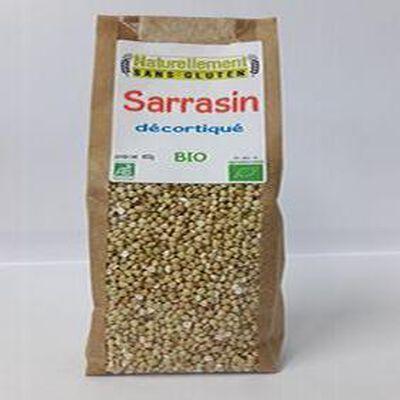 Sarrasin décortiqué Bio NATURELLEMENT SANS GLUTEN 400g
