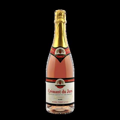 Crémant du Jura rosé, bouteille de 75cl