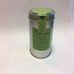 thé vert gourmand LA CABANE A CAFE 90g