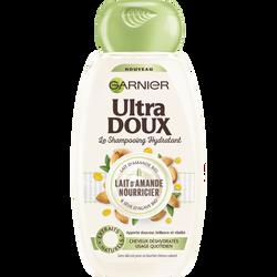 Shampoing au lait végétal pour cheveux desséchés ULTRA DOUX, flacon de250ml
