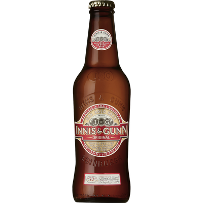 Bière ambrée INNIS & GUNN, 6,6°, bouteille de 33cl