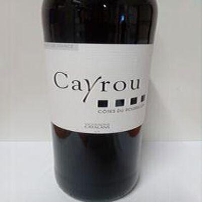 COTES/ROUSSILLON AOP  CAYROU RG 75CL