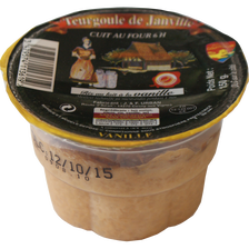 Dessert de riz au lait Teurgoule de Janville à la vanille, 150g