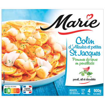 Marie Colin D'alaska Et Petites St Jacques, Marie, 900g