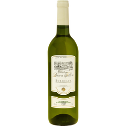 Vin blanc AOC Bordeaux château Baron Fillon U BIO, 75cl