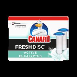 Recharges fresh disc activ eucalyptus CANARD, x2 recharges