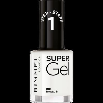 Vernis à ongles super gel 001 basic b RIMMEL, sous blister, 12ml