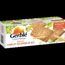 Biscuits complets au germe de blé GERBLE, paquet de 210g