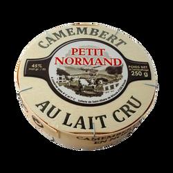 Camembert au lait cru PETIT NORMAND, 22%mg, 250g