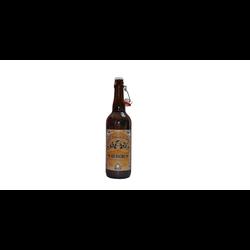 Bière blanche BRASERIE ARTISANALE DE SABAUDIA, bouteille 75cl