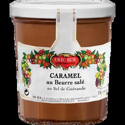 Caramel au beurre salé au sel de guérande ERIC BUR, 340g