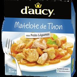 Matelote de thon aux petits légumes D'AUCY, 300g