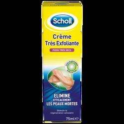 Crème très exfoliante pour pieds SCHOLL, tube de 75ml